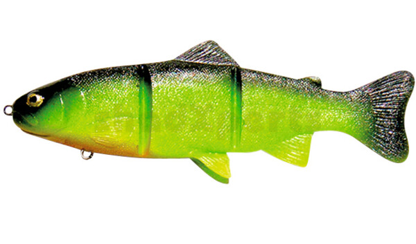 PL20CH Castaic-Platinum 20,5 cm - Chartreuse fast sinking