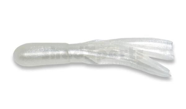 """001604010 Crappie Tube 1.5"""" (ca. 3 cm) Pearl"""