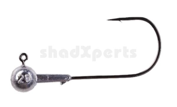SXRO110010 ShadXperts Spezial Jig Rundkopf Größe: 11/0, Gewicht: 10 g
