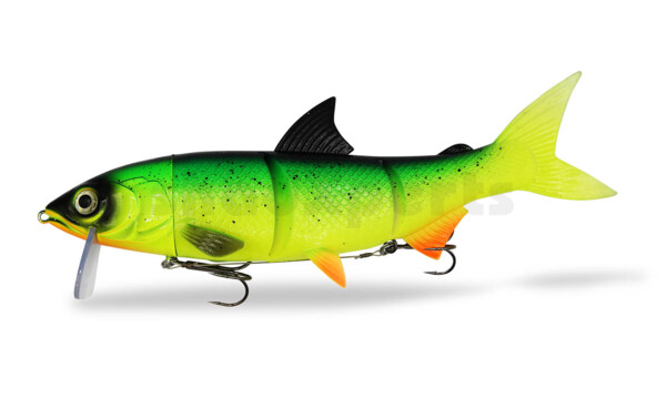 "HYRO26GI RenkyOne - Hybrid Fishing Lure 10"" (ca. 25 cm) slow sinking Green Inferno"