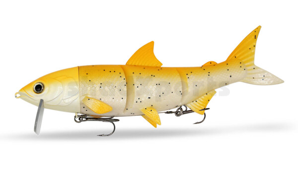 "HYRO25SO RenkyOne - Hybrid Fishing Lure 10"" (ca. 25 cm) slow sinking Spotted Orange"