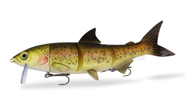 "HYRO26TC RenkyOne - Hybrid Fishing Lure 10"" (ca. 25 cm) slow sinking Trout Costume"