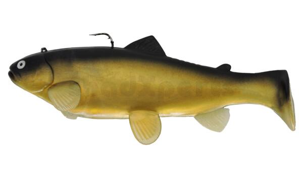 SBT25GS Castaic-Swim-Bait-Trout-25cm sinking Golden Shiner