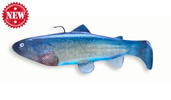 SBT25GBB Castaic-Swim-Bait-Trout-25cm sinking Ghost Blue Back