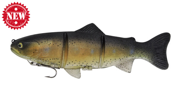 PL20JGRT Castaic-Platinum 20,5 cm - Japanese Ghost Rainbow Trout fast sinking