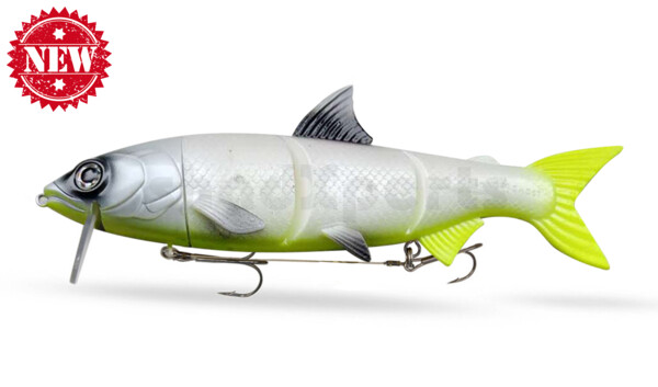 "HYRO25LC RenkyOne - Hybrid Fishing Lure 10"" (ca. 25 cm) slow sinking Lemon Cream"