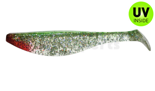 "000216153 Kopyto-River 6"" (ca. 16,0 cm) clear silver-glitter / green"