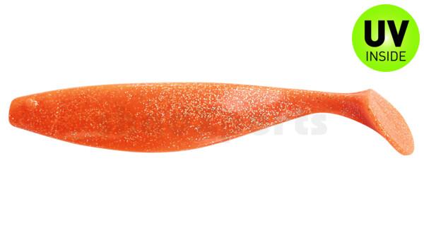 "000418073 ShadXperts´ Xtra-Soft 7"" (ca. 18,0 cm) orange-glitter"