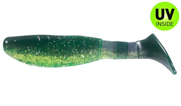 "000208B113 Kopyto-Classic 3"" (ca. 8,0 cm) chartreuse glitter / grape"