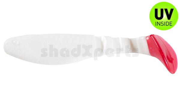 "000208001RT Kopyto-Classic 3"" (ca. 8,0 cm) white / Red Tail"