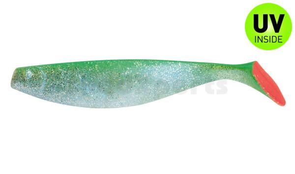 "000418046 ShadXperts´ Xtra-Soft 7"" (ca. 18,0 cm) bluepearl-glitter / green"