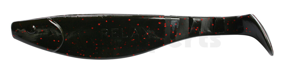 "000216204 Kopyto-River 6"" (ca. 16,0 cm) schwarz-rot-Glitter"