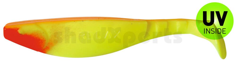 "000216103 Kopyto-River 6"" (ca. 16,0 cm) fluogelb / orange"