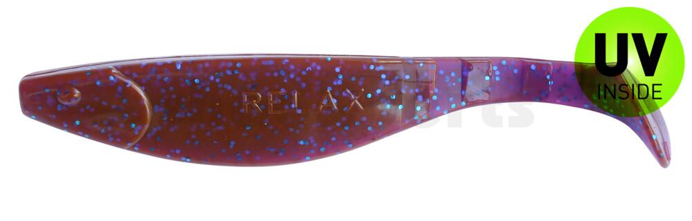 "000216175 Kopyto-River 6"" (ca. 16,0 cm) crawfish-violett-electric blue-Glitter"