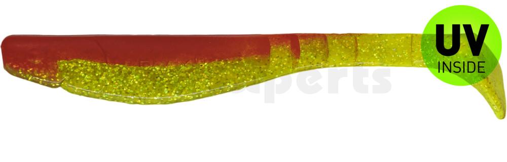 """000220068 Kopyto-Classic 8"""" (ca. 20,0 cm) grün(chartreuse)-Glitter / rot"""